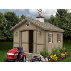 Cambridge 10x12 Wood Storage Shed