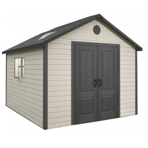 Lifetime 11x11 Outdoor Storage Shed Kit w/ Floor (6433)