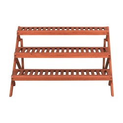 Leisure Season 3-Tier Wooden Step Plant Stand (PS6133)