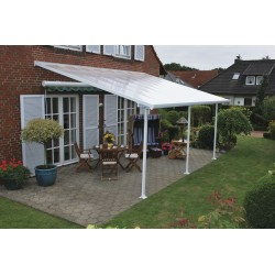 Palram 10x28 Feria Patio Cover Kit - White (HG9328)