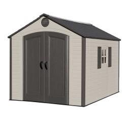 Lifetime 8x10 Outdoor Storage Shed Kit w/ Ridge Skylight (60056)