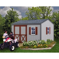 Best Barns Cypress 10x12 Wood Storage Shed Kit (cypress_1012