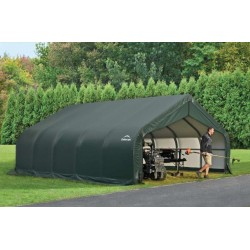 Shelter Logic 18x20x9 Peak Style - Green (80044)