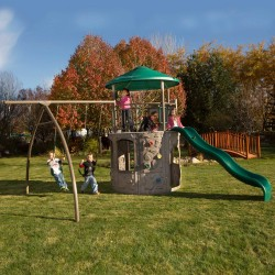 Lifetime Adventure Playset Outdoor - Earthtone (90440)