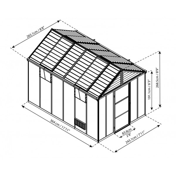 Outdoor Storage Awnings