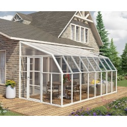 Rion 8x18 Sun Room 2 Greenhouse Kit - White (HG7618)