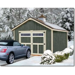Best Barns Dover 12x16 Wood Garage Kit - All-Precut (dover_1216)