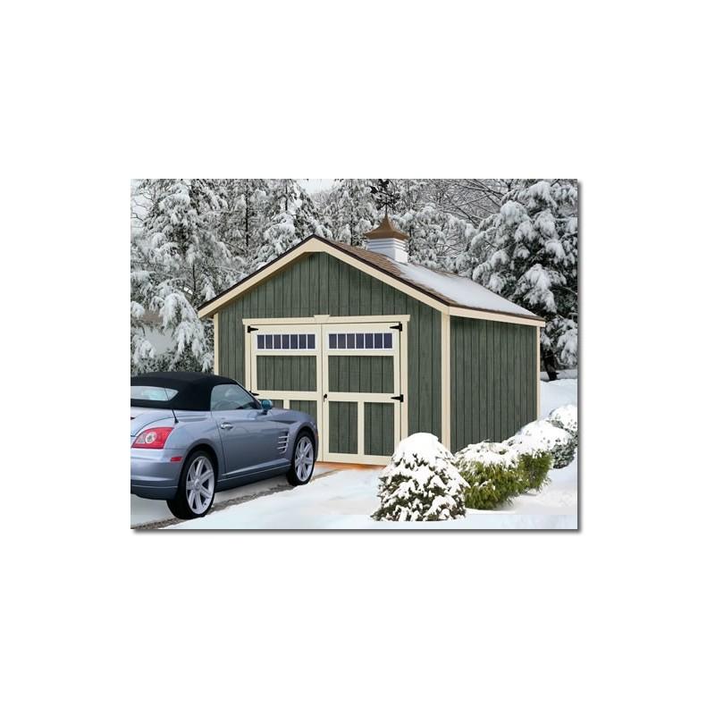 Best Barns Dover 12x20 Wood Garage Kit - All-Precut (dover_1220)