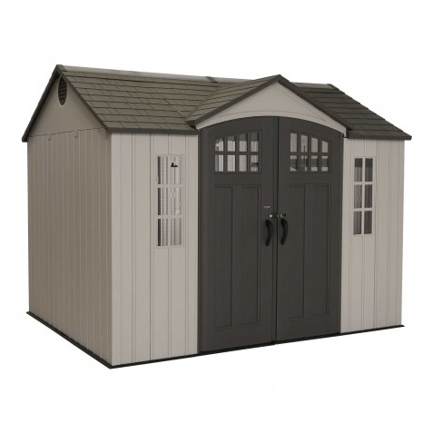 Lifetime 10x8 Side Entry Shed w/ Vertical Siding (60118)