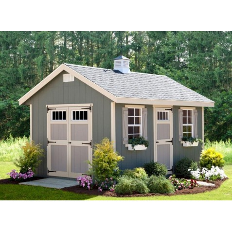 EZ-Fit Riverside 10x20 Wood Shed Kit (ez_riverside1020)