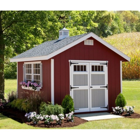 EZ-Fit Homestead 8x8 Shed Kit (ez_homestead88)