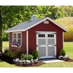 EZ-Fit Homestead 10x16 Wood Shed Kit (ez_homestead1016)