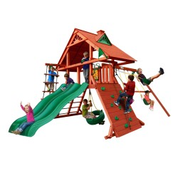 Gorilla Sun Palace Extreme Cedar Swing Set Kit - Redwood (01-0043)