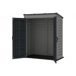 DuraMax YardMate 5x3 Pent Roof Plus Vinyl Storage Shed (05325)