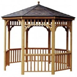Handy Home 10ft. San Marino Octagonal Gazebo Kit - Showcasing the History of Architecture (19944-8)