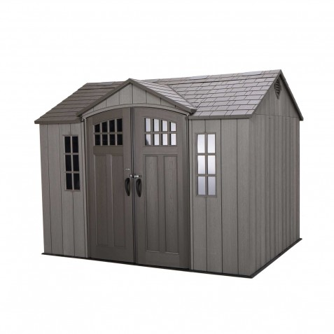 Lifetime 10x8 ft Outdoor Storage Shed Kit (60330)