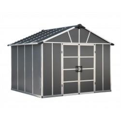 Palram Yukon 11x21 Storage Shed Kit - Gray (HG9921SGY)