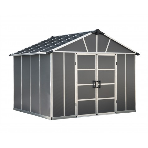 Palram Yukon 11x21 Storage Shed Kit - Gray  (HG9921SGY)