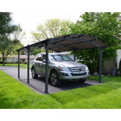 Palram 16x12 Arcadia 5000 Metal Carport Kit (HG9100)