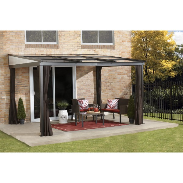 Sojag 10x12 Budapest Wall Mounted Gazebo Kit 500 9165234
