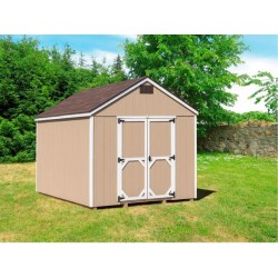 EZ-Fit Craftsman 8'W x 10'D Wood Storage Shed Kit (ez_craftsman810)