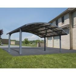 Palram Arizona Breeze Double Carport Arch-Style (HG9104)