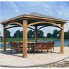 Handy Home 12x12 Brezina Pavilion Gazebo Kit (19360-6)