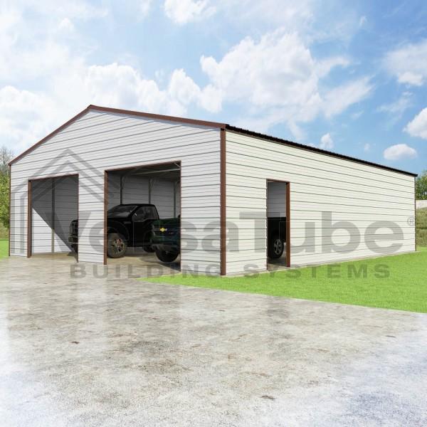 Versatube 30x40x10 Frontier Steel Storage Garage Kit