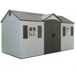 Lifetime 15' x 8' Garden Storage Shed (6446)