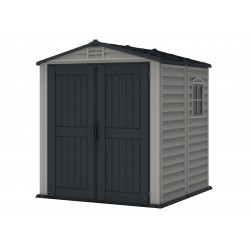 DuraMax 6x6 StoreMate Plus Vinyl Storage Shed Kit w/ Floor (30425)