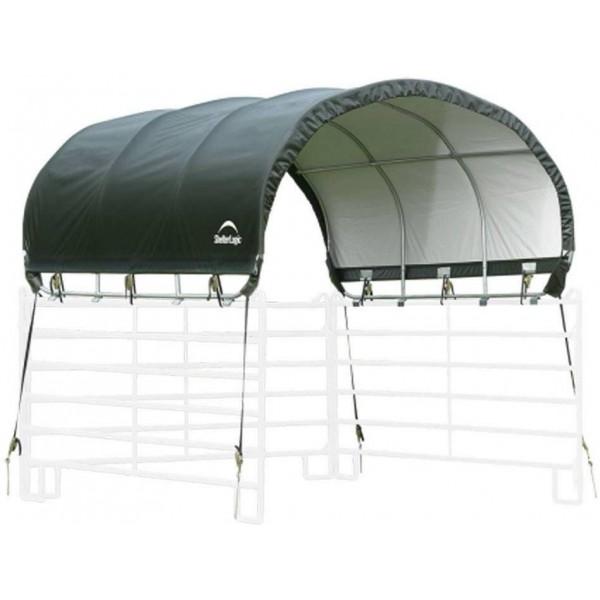 Shelterlogic 10x10 Top Corral Shelter Green 51530