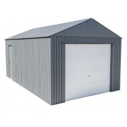 Sojag 12x20 Everest Steel Storage Garage Kit - Charcoal (GRC1220)