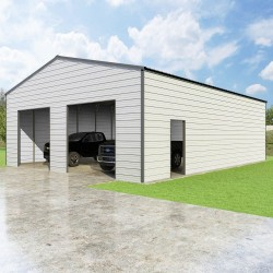 VersaTube 30x40x12 Frontier Steel Garage Kit (FBM33040120529X9)