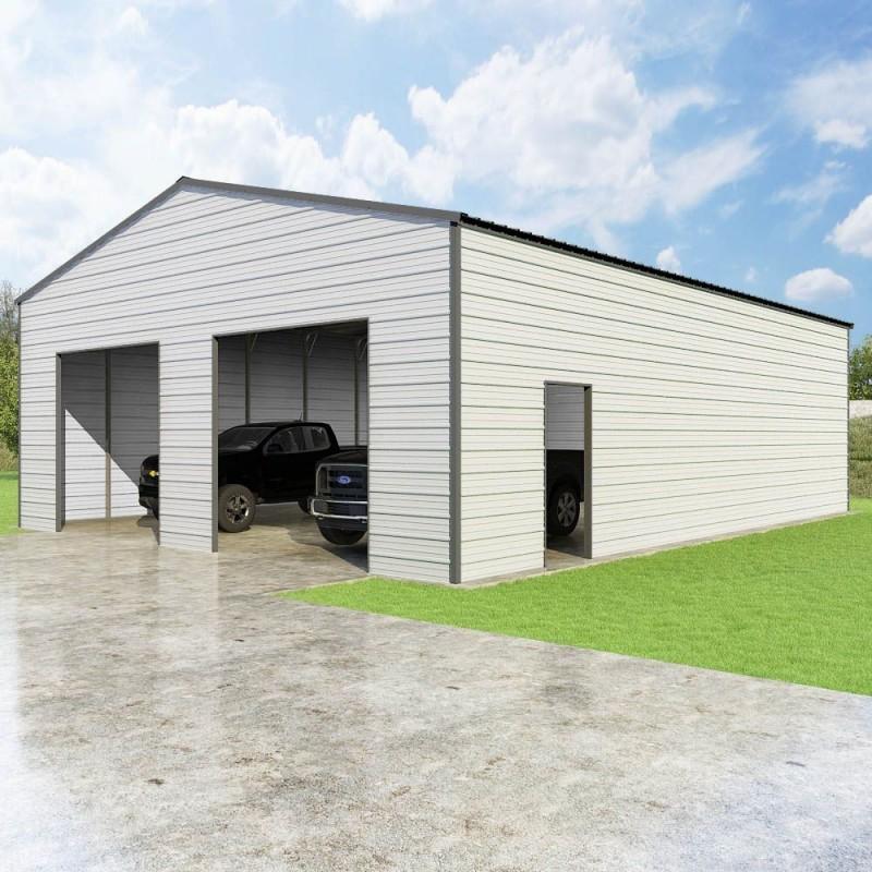 VersaTube 30x40x12 Frontier Steel Garage Kit (FBM33040120529X9)