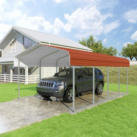 VersaTube 12x20x7 Classic Steel Carport Kit (CM012200070)