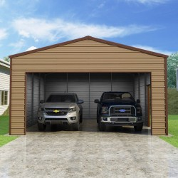 Versatube 20x20x10 Frontier Steel Garage Kit (FBM2202010516)