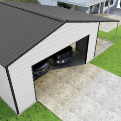 Versatube 24x24x10 Summit Classic Steel Garage Kit (VS3242410616)