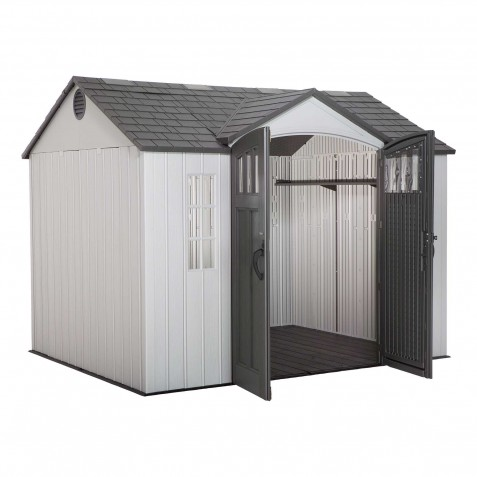 Lifetime 10x8 Outdoor Storage Shed Kit w/ Vertical Siding (60243)