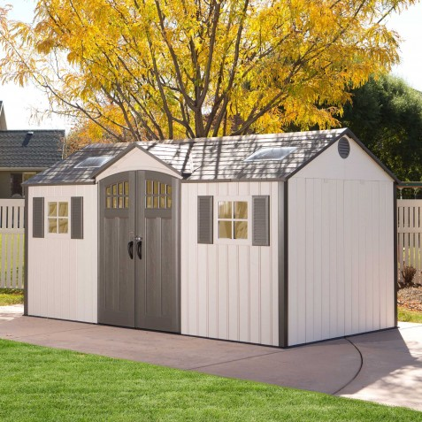 Lifetime 15x8 New Style Storage Shed Kit w/ Floor (60138)