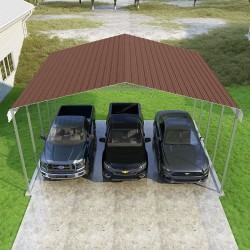 VersaTube 24x20x12 Classic Steel Carport Kit (CM224200120)