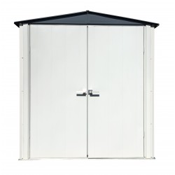 Arrow 6x3 Spacemaker Patio Steel Storage Shed (PS43)
