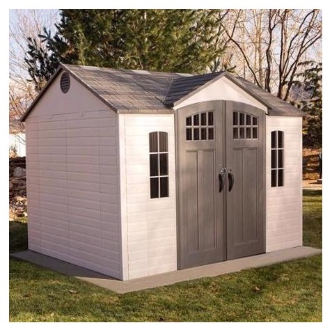 Lifetime 10x8 Plastic Outdoor Storage Shed (60333)