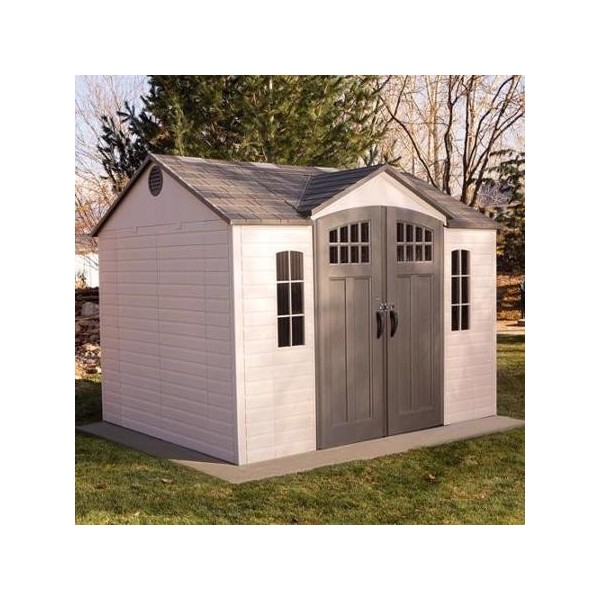 Handy Home Avondale 10x8 Wood Storage Shed Kit W Floor 18242 6 Wooden Storage Sheds Wood Storage Sheds Shed Storage