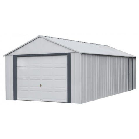 Arrow Vinyl Murryhill 14x31 Steel Prefab Storage Shed Kit Bgr1431fg