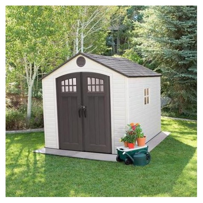 Lifetime 8x10 Outdoor Storage Shed w/ Horizontal Siding (60332)