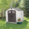 Lifetime 8x10 Outdoor Storage Shed w/ Horizontal Siding (60332)