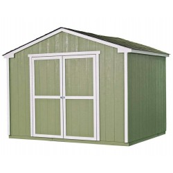 Handy Home Cumberland 10x16 Wood Storage Shed Kit (18285-3)