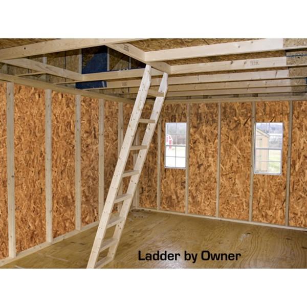 Best Barns Belmont 12x20 Wood Storage Shed Kit Belmont 1220