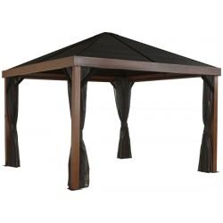 Sojag 12x12 Wood Finish Valencia Gazebo Kit (500-9166606)