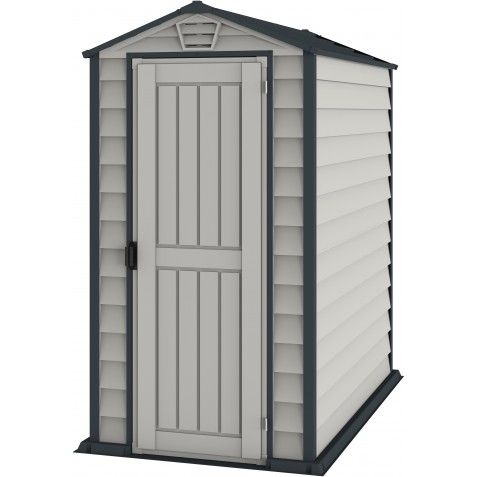 DuraMax EverMore 4x6 Vinyl Storage Shed w/ Floor (30625)